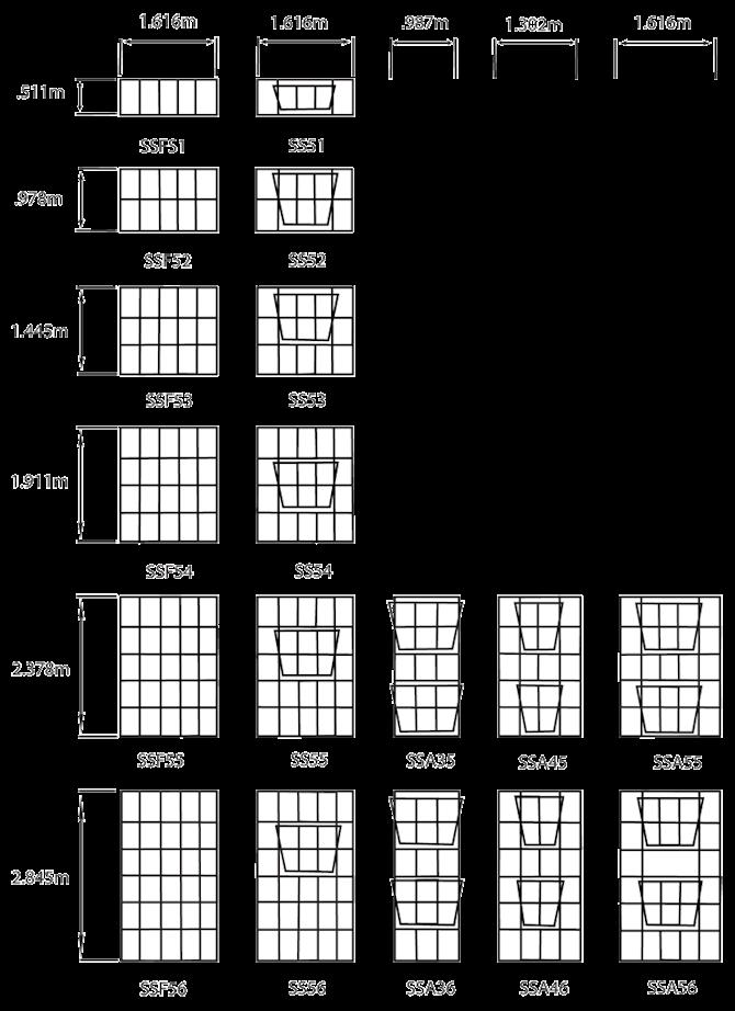 SAGE WISE 24 CC | SS Industrial Type Window Frames | Steel Window Frames